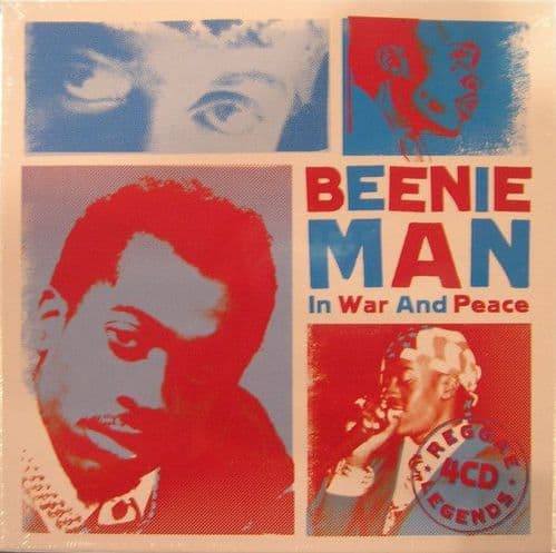 Beenie Man<br>In War And Peace<br>4CD, Comp + Boxset